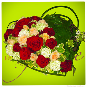 Compositions florales c r monie fun raire s pulture for Commander des fleurs sur internet